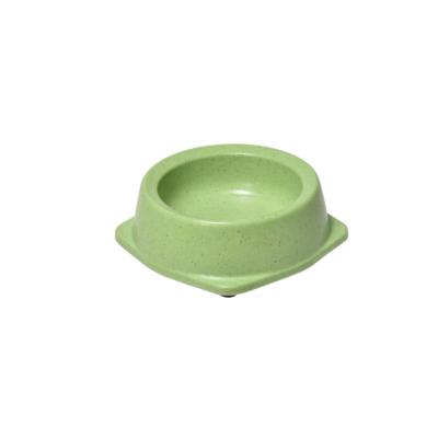 RECORD BAMBOO Bambusz-műanyag etetőtál Zöld 13*15.2*4.5 cm 250 ml