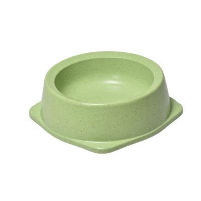 RECORD BAMBOO Bambusz-műanyag etetőtál Zöld 15.2*17.5*5.5 cm 400 ml