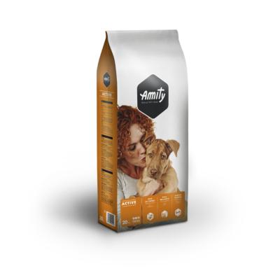 AMITY ACTIVE kutyatáp húsos 20 kg