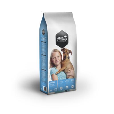 AMITY JUNIOR kutyatáp húsos 20 kg