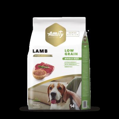 AMITY HIPOALLERGÉN kutyatáp bárányos 14 kg
