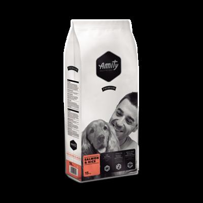 AMITY kutyatáp lazac-rizs 3 kg