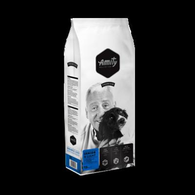 AMITY LIGHT-SENIOR kutyatáp szárnyas-rizs 15 kg