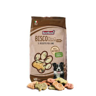 BISCODog Zöldséges Mix 400g