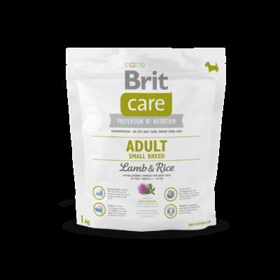 Brit Care HIPOALLERGÉN kutyatáp KISTESTŰ kutyáknak bárány-rizs 1 kg