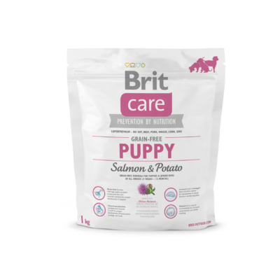Brit Care HIPOALLERGÉN JUNIOR kutyatáp lazac 1 kg
