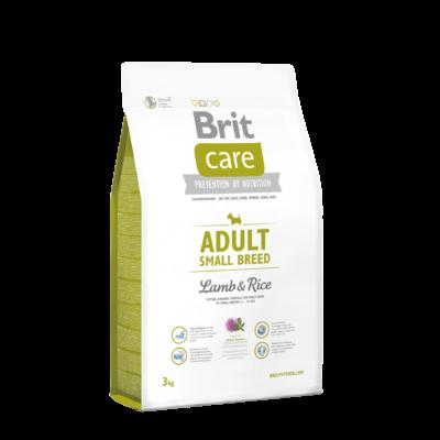 Brit Care HIPOALLERGÉN kutyatáp KISTESTŰ kutyáknak bárány-rizs 3 kg