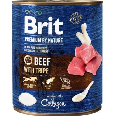 Brit Premium kutya konzerv marha-pacal 800g