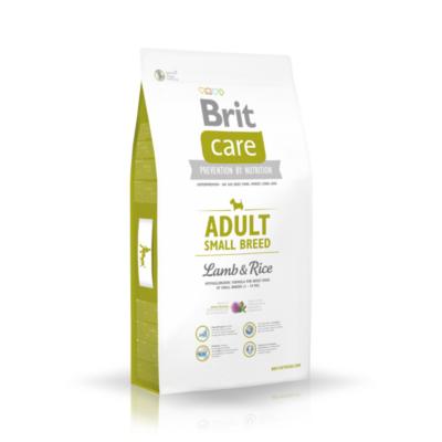 Brit Care HIPOALLERGÉN kutyatáp KISTESTŰ kutyáknak bárány-rizs 7,5kg