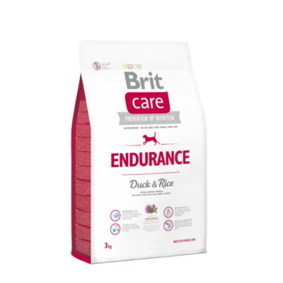 Brit Care HIPOALLERGÉN Endurance kutyatáp kacsa-rizs 3 kg