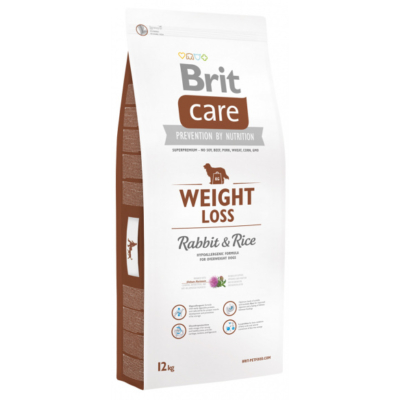 Brit Care Weight Loss nyúl-rizs 12 kg