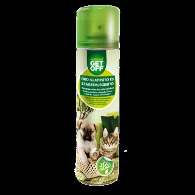 GET OFF Természetes illatosító és szagsemlegesítő dezodor 400 ml - kutyaházakhoz, textíliákhoz