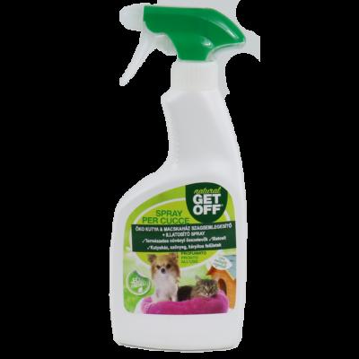 GET OFF ÖKO Természetes illatosító és szagsemlegesítő spray 500 ml - kutyaházakhoz, textíliákhoz