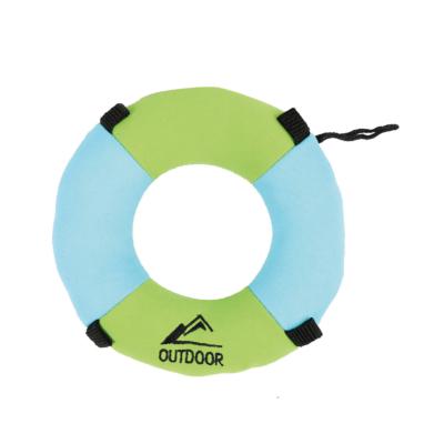 RECORD kutyajáték vízen úszó mentőöv 18x18x4cm
