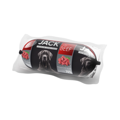 Jack kutyaszalámi 400g marha