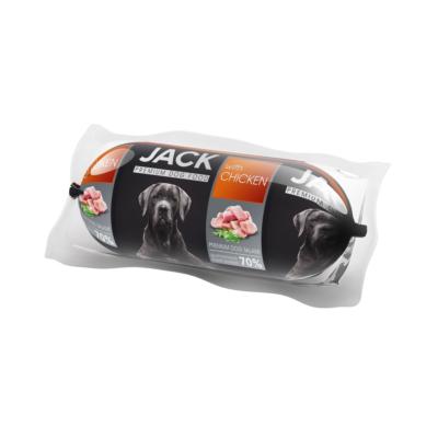 Jack kutyaszalámi 400g csirkés