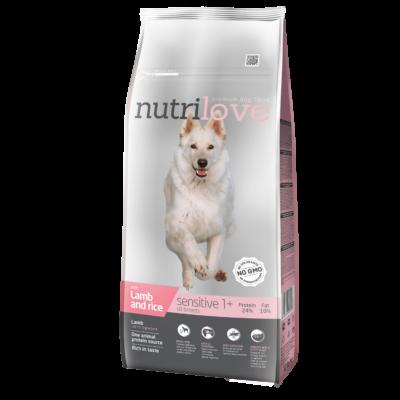 Nutrilove PRÉMIUM MONOPROTEIN kutyatáp bárány 12 kg