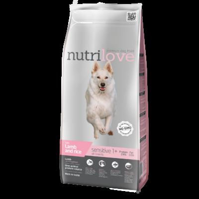 Nutrilove PRÉMIUM MONOPROTEIN kutyatáp bárány 3 kg