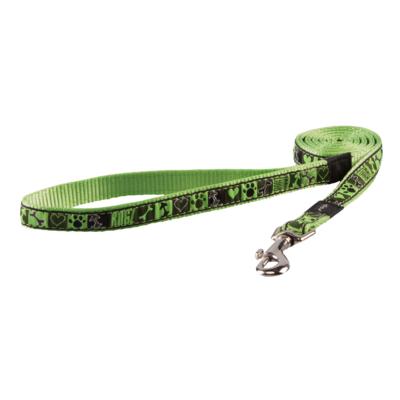 Rogz FANCY DRESS póráz S 1,8 m Zöld mintás