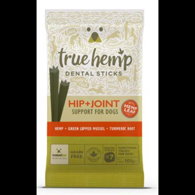 True Hemp Dog Dental Sticks Hip Joint 100g